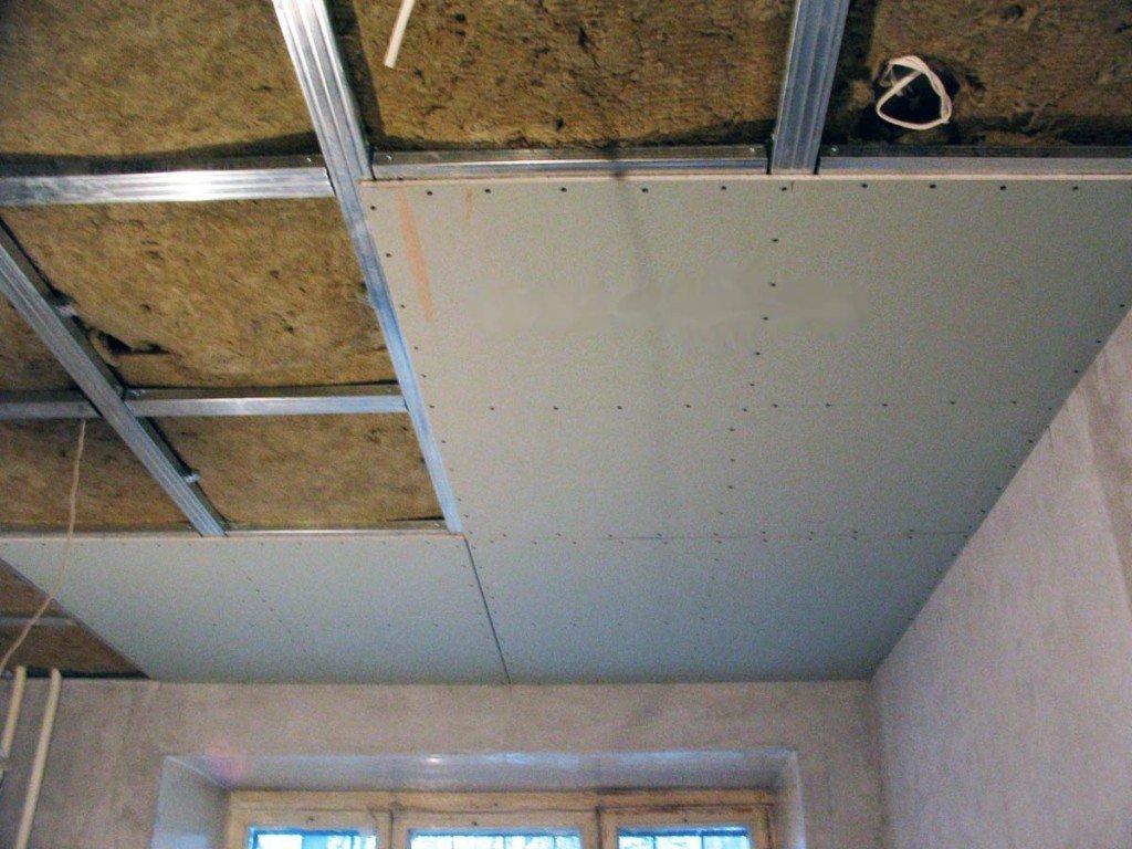 сколько стоит монтаж потолка из гипсокартона